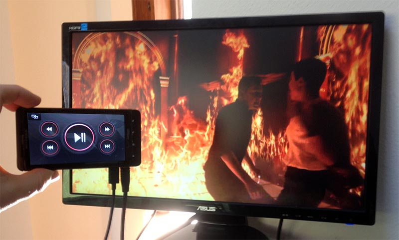 wallpapers Play What's On Phone To Tv how to play video from your phone on