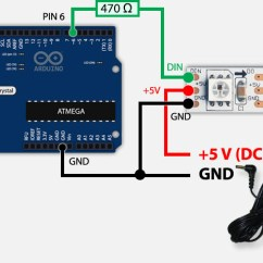 5050 Led Strip Wiring Diagram Weg W21 Tweaking4all Com Arduino Controlling A Ws2812 Strand With Usb And External Power