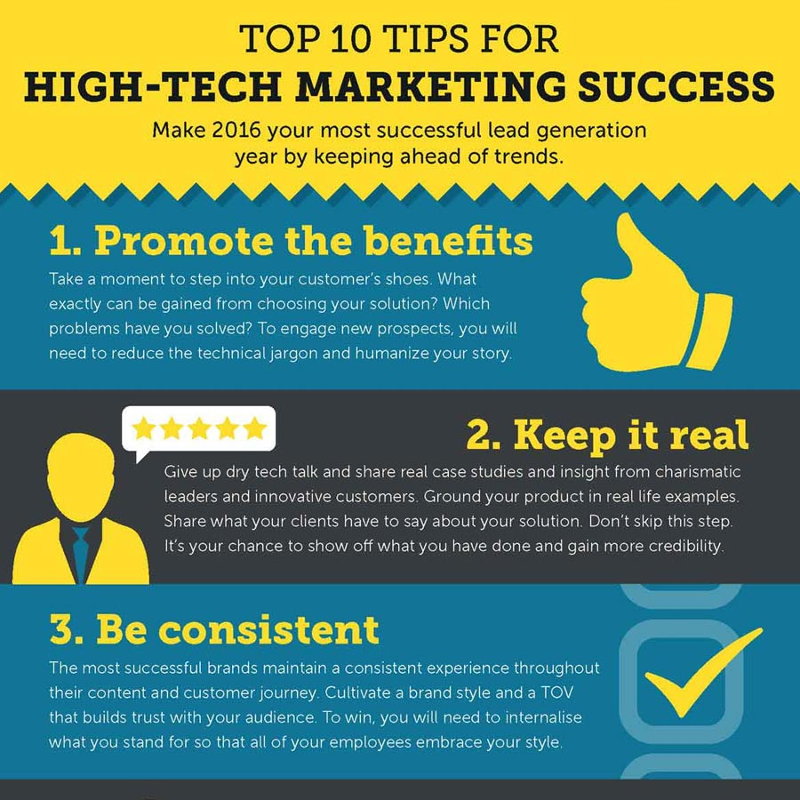 Top 10 Tips For High Tech Marketing Success Tweak Marketing