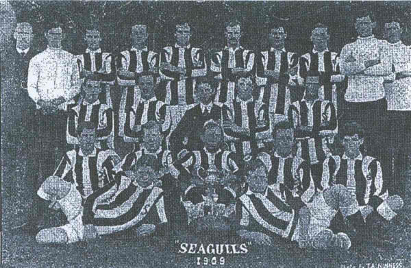 The First Tweed Heads Seagulls Team 1909