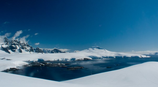 yachts in Port Lockroy by .