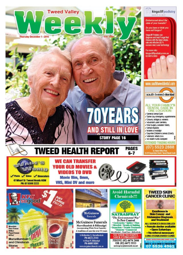 The Weekly Front Page December 1