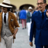 Firenze, Pitti Uomo numero 92: oltre 30mila visitatori. Buyer internazionali 8.400. Italiani meno 9%