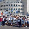 Migranti: Pistoia si ribella, basta arrivi, sit in davanti alla prefettura