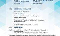 Italia Comfidi. Lunedì 28 maggio Assemblea di Bilancio a Roma
