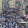 Italia: aumentano i turisti, sono stati 91 milioni nel 2017, il 6% in più del 2016
