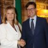 Il sindaco Nardella dà il benvenuto al nuovo prefetto Laura Lega