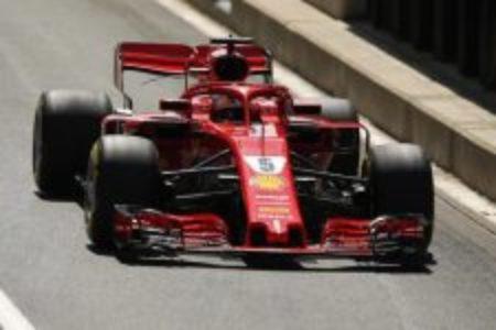 Formula1, Gp di Germania: la Ferrari di Vettel in pole position. Hamilton a piedi in mezzo alla pista