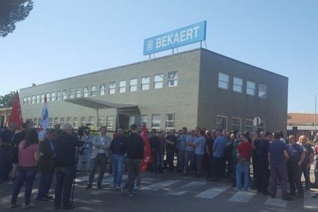 Bekaert: incontro e manifestazione domani 21 settembre al Mise