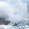 Isola d'Elba: il ponte dei minatori crolla, si spezza e sparisce in mare