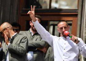 Fiorentina: Ribery in campo già contro il Napoli. E giovedì sera (ore 20) festa al Franchi con i tifosi