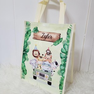 Personalised Cheap Goodie Bags Singapore - Non-Woven Transparent Bag
