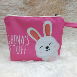 Personalised Cosmetic Pouch Singapore - Customised Gifts