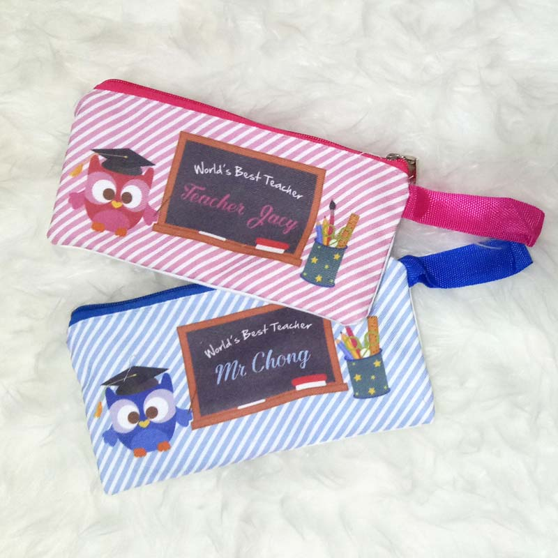 Personalised Teacher Pencil Case Singapore - Custom Gifts
