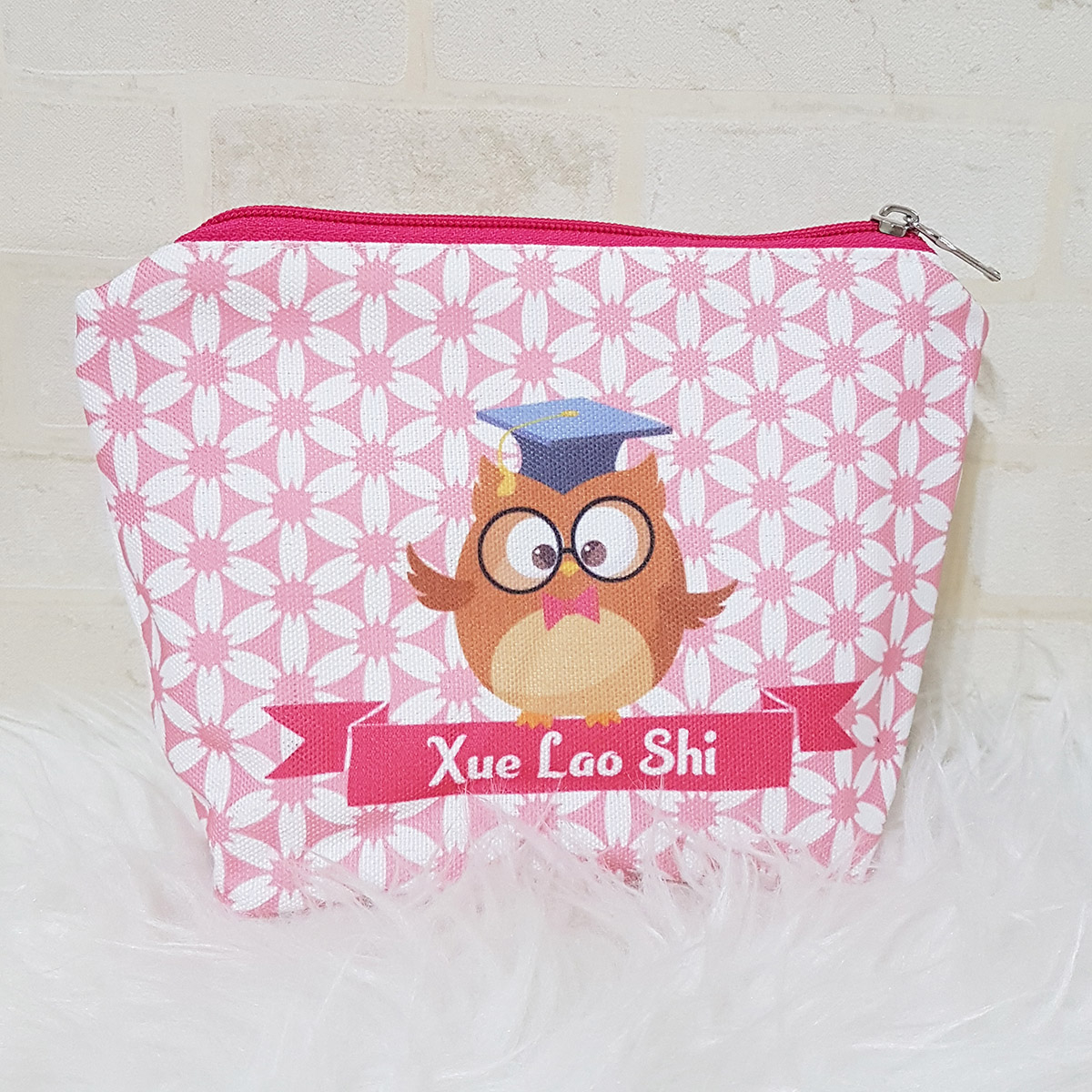 Personalised Pouch for Teacher's Day Gift
