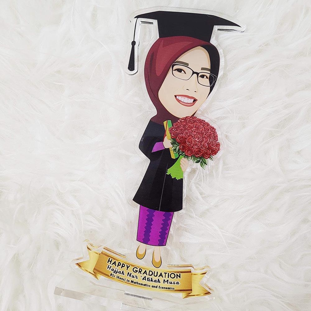 Customised Photo Gift Singapore - Caricature Acrylic Standee