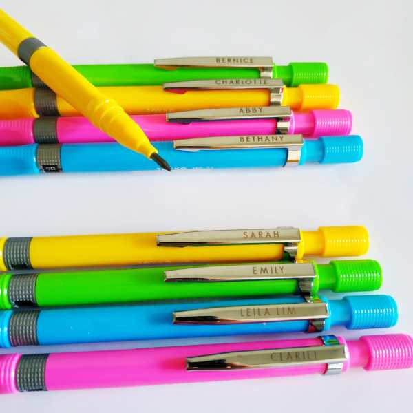 personalized Mechanical Pencils Singapore | For Students