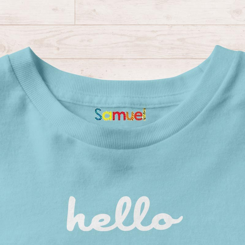 Personalised Iron On Name Labels Singapore | Clothes Labels