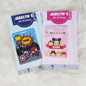 Customised Bag Tags Singapore - Children's Day Gift Ideas