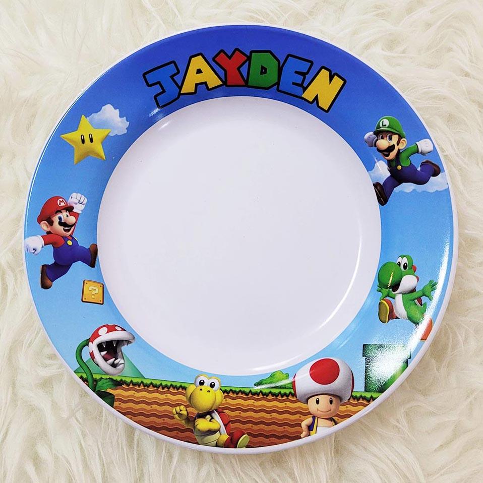 Customised Melamine Plates for Kids Singapore