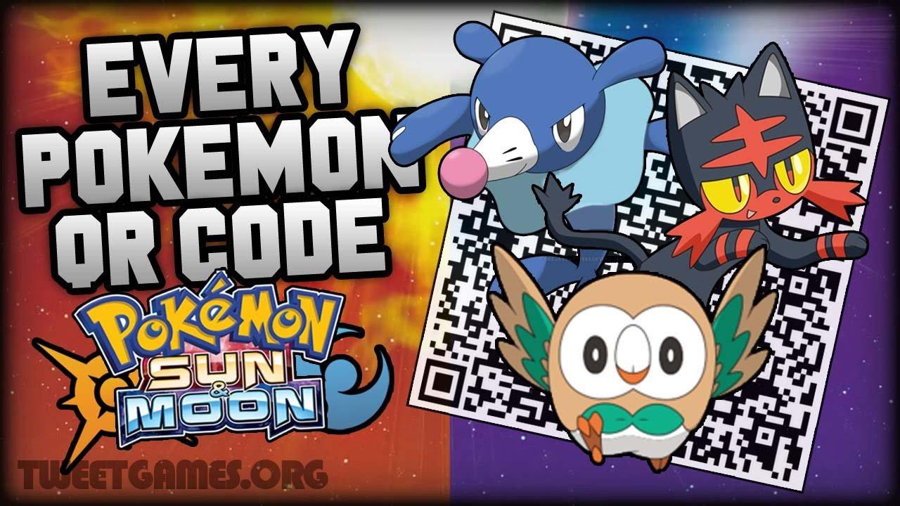 pokemon qr codes tweets