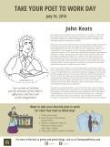 John Keats Take Your Poet to Work