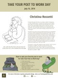 Take Your Poet to Work Day Printable Christina Rossetti