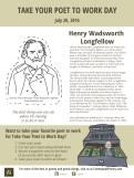 Take Your Poet to Work Day Printable - Henry Wadsworth Longfellow