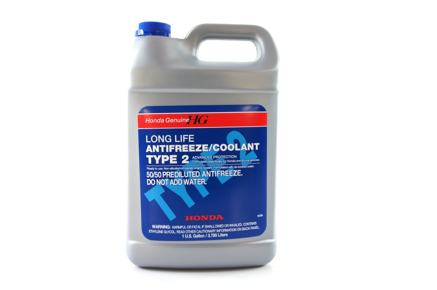 hight resolution of genuine honda parts blue type 2 coolant