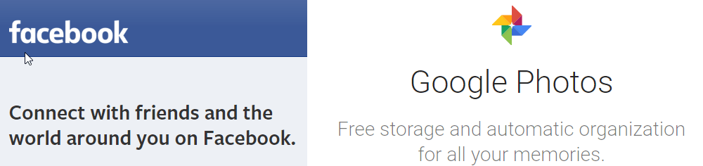 Facebook Google Photos Tool