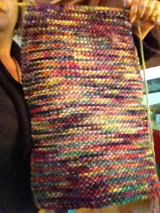 Tiredness, Eva's coat of many colors.