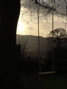A church swing in Derbyshire.