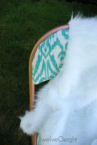 Thrift Store Redo: a thrift store chair makeover
