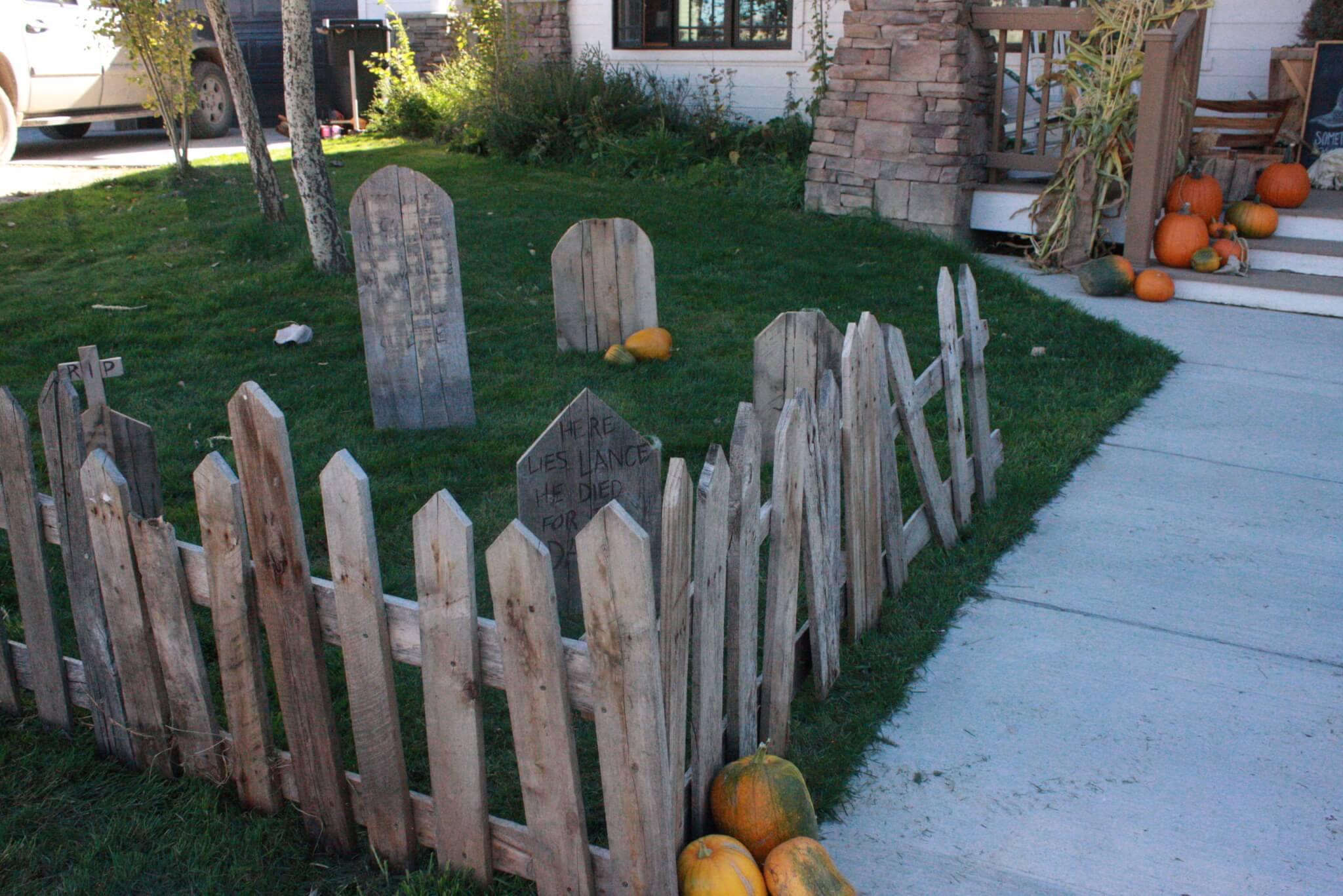 My Spooky Pallet Graveyard - Twelve On Main