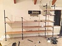 DIY Industrial Pipe Shelves - Twelve On Main