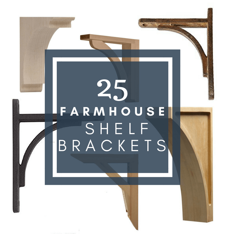kitchen shelf brackets purist faucet 25 farmhousestyle rustic for your home twelve on main what about farmhouse shelves i have of the coolest