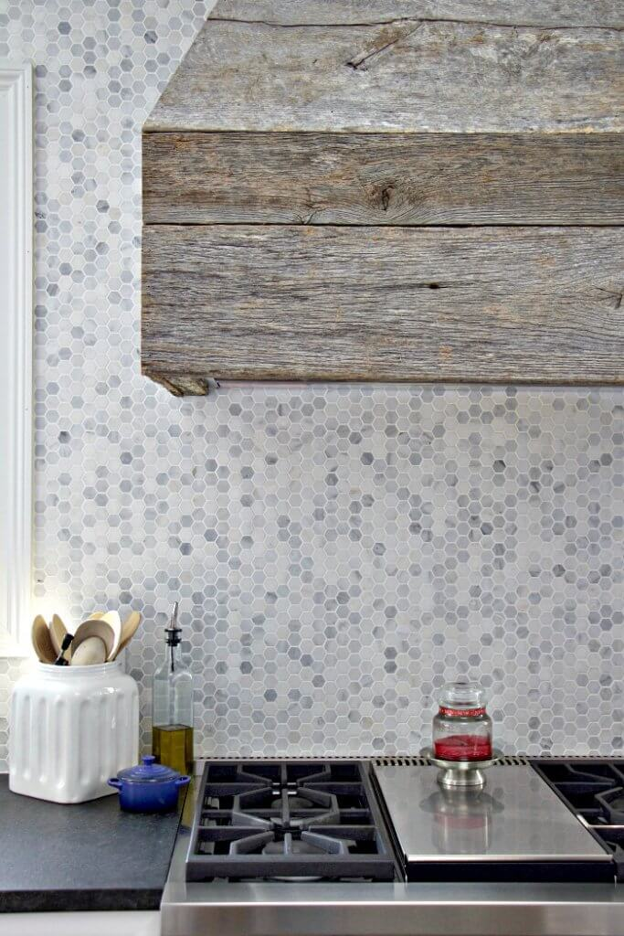 mosaic backsplash kitchen lowes tiles over 50 of the best farmhouse tile ideas twelve on main now i used a natural stone marble my bathroom floor that could also be as