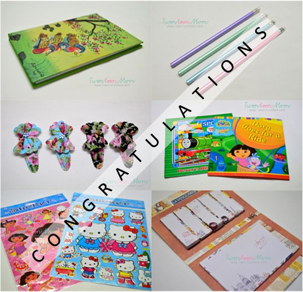 Twenteen Mom Pasko Sa Agosto 2013 Giveaway Winner