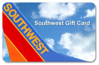 $500 Southwest Airlines Gift Card Giveaway