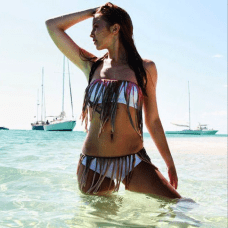 KASS Swimwear - St. Croix Keiann Corlise captures her fresh, youthful energy in her KASS Swimwear designs. These pieces are sure to make any woman feel beautiful, confident, with a hint of sass. Photo Courtesy of KASS Swimwear/Instagram