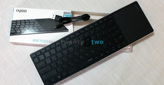 DAILY DRIVEN | The Rapoo E6700 Bluetooth keyboard