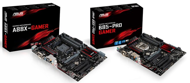 Hardcore Hardware: The ASUS Gamer Series motherboards