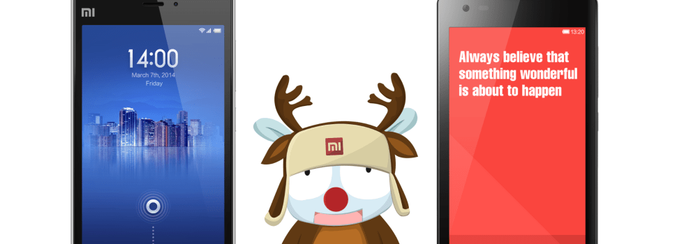 Xiaomi holds a special Christmas sale on 12.12.14!
