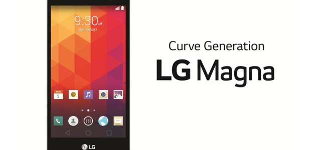 LG announces the Magna, a curved-screen midrange smartphone