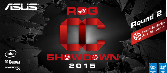 ASUS Republic of Gamers announces OC Showdown 2015 Formula Series R2