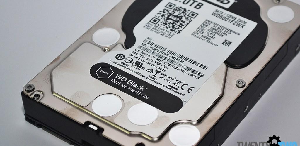 FIRST IMPRESSIONS  WD Black 3.5 Desktop Hard Drive (WD6001FZWX)