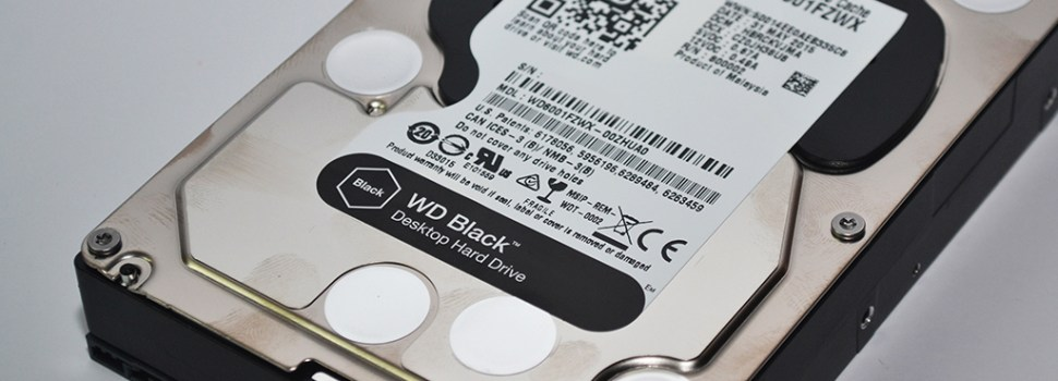 FIRST IMPRESSIONS| WD Black 3.5 Desktop Hard Drive (WD6001FZWX)