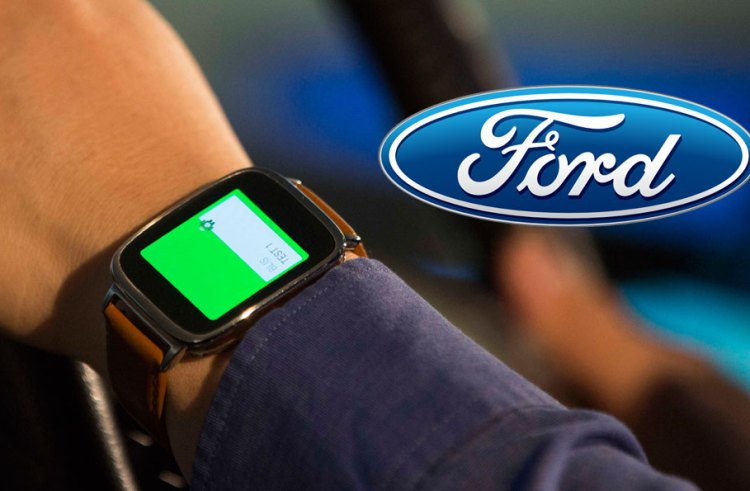 Ford plans to integrate wearables into their smart car interface