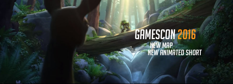 GAMESCOM 2016 | Blizzard reveals new Overwatch map and animated short