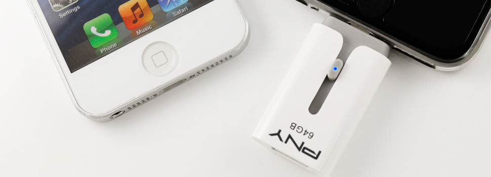 PNY announces the Duo-Link UFD, a storage solution for iOS devices